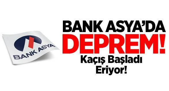 Bank Asya'dan Kaçış Başladı