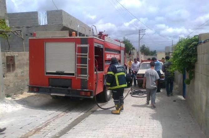 Çalışmaya Gitti Urfa'daki Evi Yandı