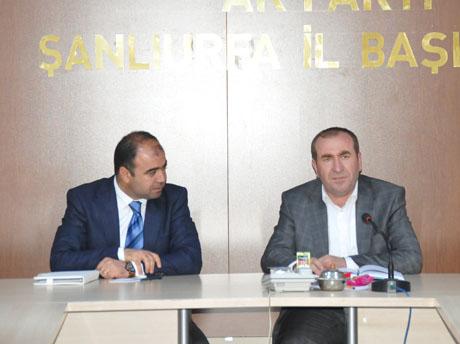 Çiftçi AK Parti İl Yönetimi ile bir araya geldi-video
