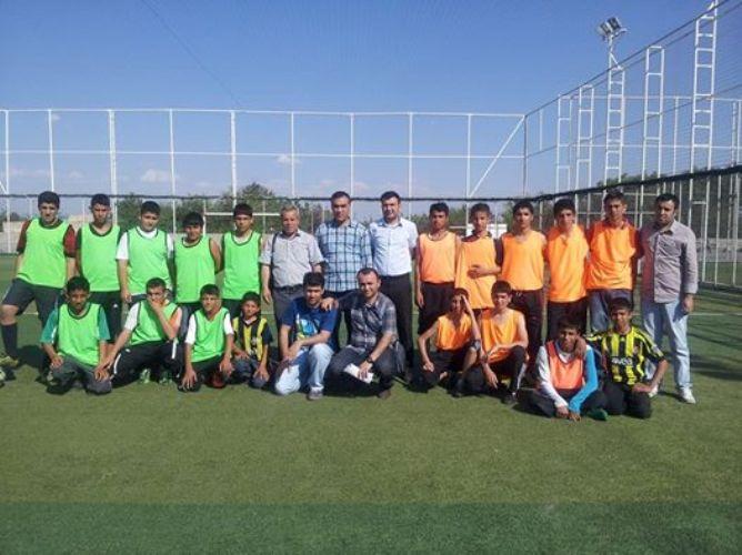 Eyyübiye İlkokulunda Futbol Turnuvası Düzenlendi