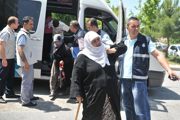 Suriyeli dilencilere baskın