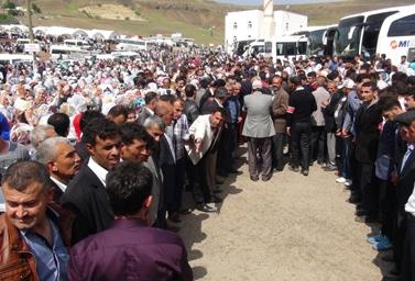 Şeyh Halid'i binlerce kişi rahmetle andı