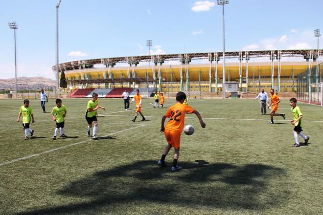 Urfa'da zihinsel engeliler futbol tunuvası düzenlendi