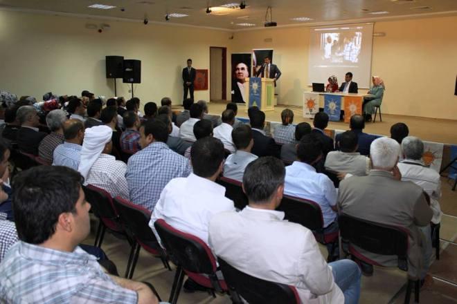 Ak Parti Eyyübiye İlçesi Mayıs Ayı Danışma Toplantısı yapıldı