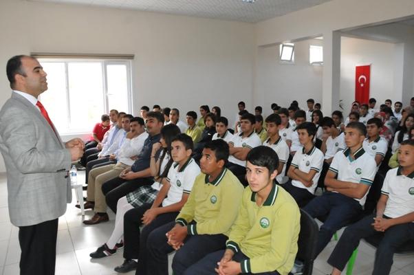 Celal Çiftçi Anadolu Sağlık Meslek Lisesinde söyleşi-VİDEO