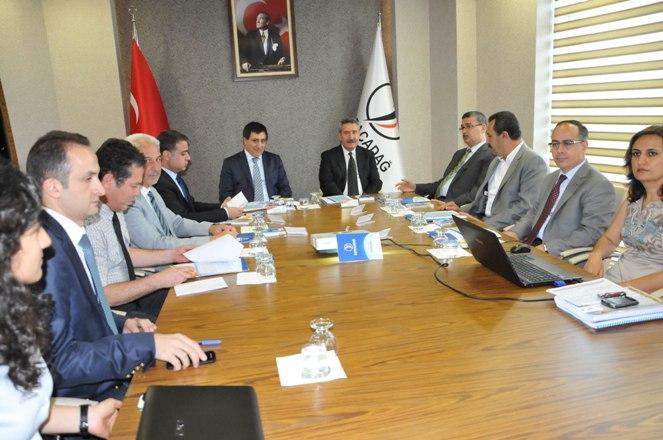 Karacadağ Kalkınma Ajansı Urfa'da projeleri masaya yatırdı
