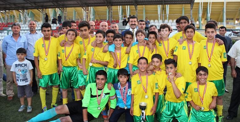 Şanlıurfaspor U-13 Gençler liginde şampiyon oldu