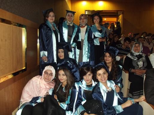 Özel Çağlayan Tevhide Hatun Anadolu ve Fen Lisesi 2014 Mezunlarını Uğurladı