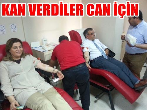 AK Kadınlar Her Kan, Kurtarılan 3 Can Diyerek Kan Verdi VİDEO