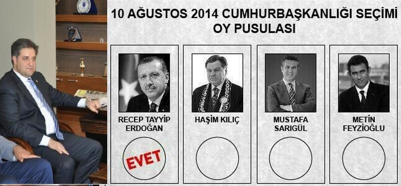 Önen'in paylaşımı Erdoğan'ı gösterdi