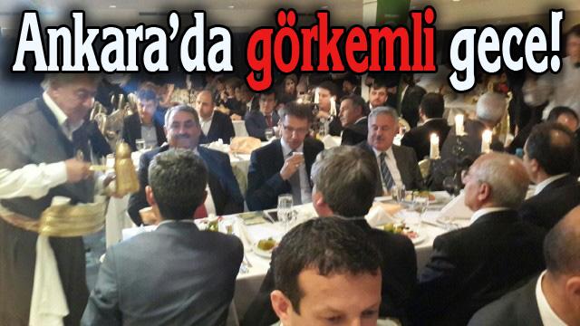 Ankara'da Şanlıurfalılar Buluştu