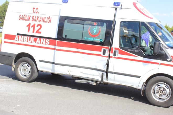 SSK Kavşağında trafik kazası