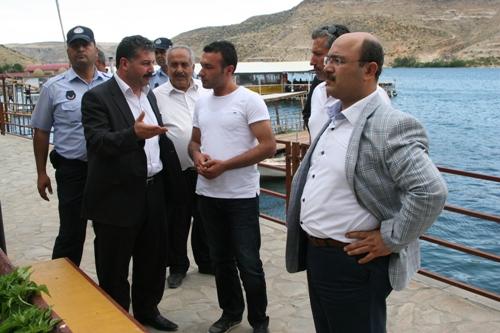 Eski Halfeti'de turizm işletmecilerin sorunları masaya yatırıldı