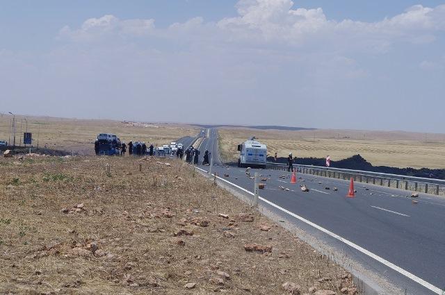 Elektrik provokasyonu Viranşehir'de