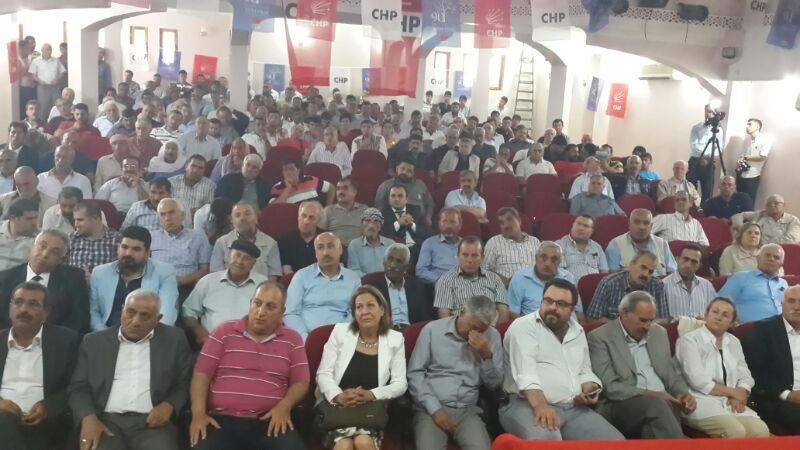 Şanlıurfa CHP'de ikici Aziz Aydınlık dönemi başladı