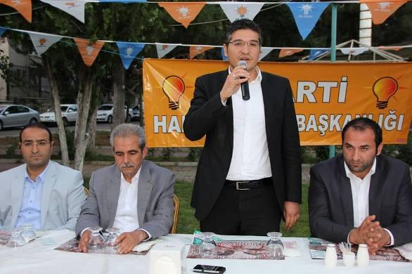 AK Parti Haliliye teşkilatı muhtarlarla buluştu VİDEO