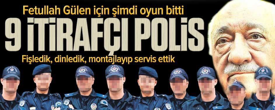 Paralel yapıya itirafçı polis darbesi