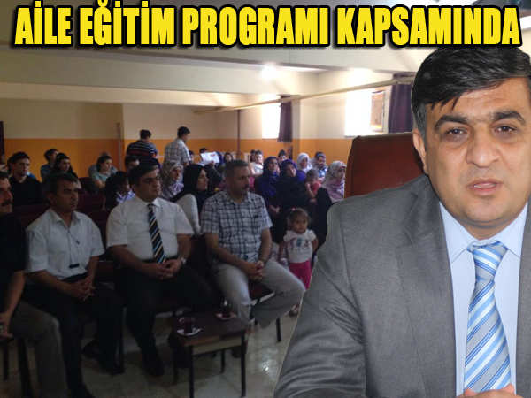 Viranşehir'de 470 kişiye aile eğitimi verildi