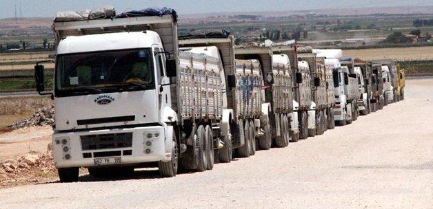 Irak ticaretinin kaderi 7 kamyona bağlı