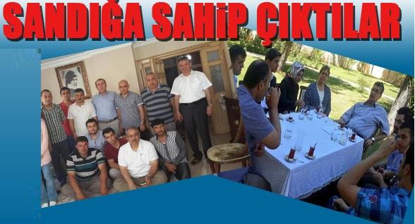 AK Parti Şanlıurfa'da sandıklara sahip çıktı FOTOĞRAFLI