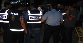 150 polisle gece baskını