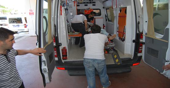 Tur otobüsü takla attı: 25 yaralı