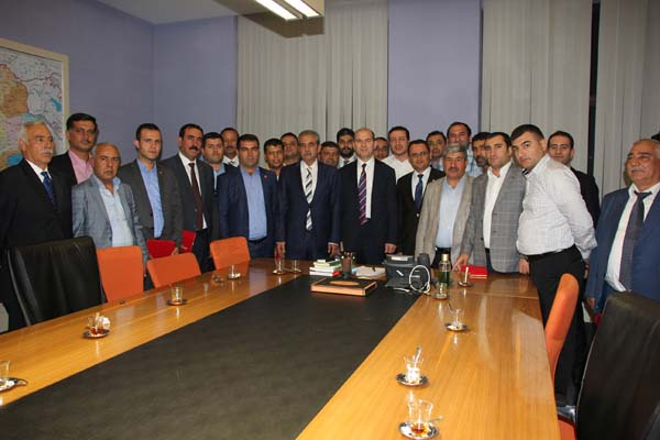 Haliliye Belediyesi Ankara'ya çıkartma yaptı