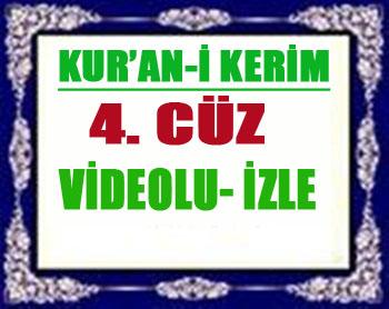 Kur'an'ı Kerim Hatimi 4. Cüz!