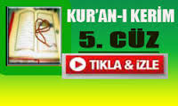 Kur'an'ı Kerim Hatimi 5. Cüz dinle