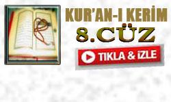 Kabe İmamlarının sesinden Kur'an'ı Kerim Hatimi 8. Cüz