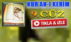 Kur'an'ı Kerim Hatimi 9. Cüz dinle