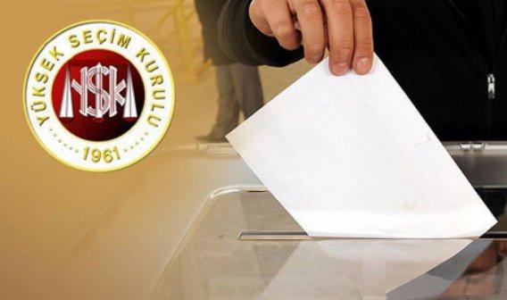 YSK Cumhurbaşkanı seçimi geçici aday listesini yayımladı.