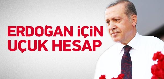 Başbakan Erdoğan'ı Köşk'e taşıyacak hesap
