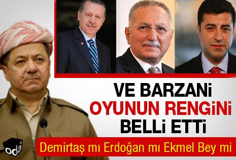 Barzani Erdoğan'ı destekleyecek