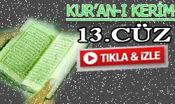 Kur'an'ı Kerim Hatimi 13. Cüz dinle