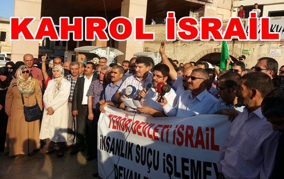 İsrail Saldırılarına Urfa'dan Kınama