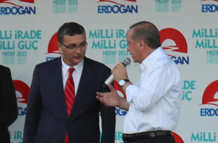 Erdoğan'dan Güvenç'e miting talimatı