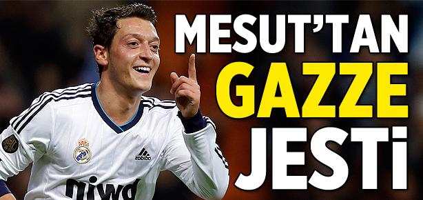 Mesut Özil'den Gazze'ye bağış