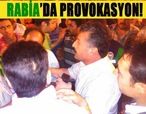 Rabia Meydanında Provokasyon! VİDEO