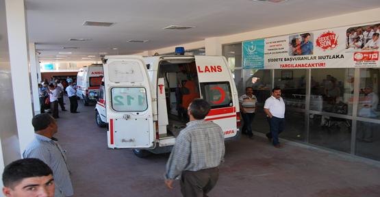 Urfa'da trafik kazası; 5 yaralı