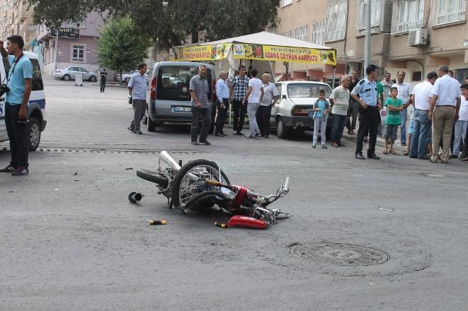Aşırı hız kazaya sebep oldu-VİDEO