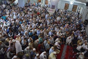 Peygamberler Şehrinden Gazze'ye toplu dua