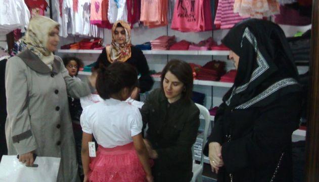 İnsani Yardım platformundan Suriyeli ailelere ziyaret
