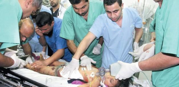 Gazze'de doktorsuzluktan el ayak kesiyorlar