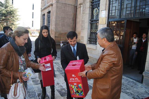 Şanlıurfa'da atık pil toplama kampanyası
