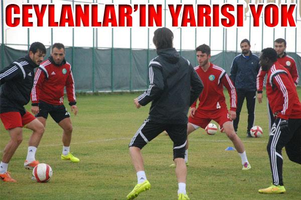 Şanlıurfaspor 5 eksikle Boluspor maçına hazır VİDEO