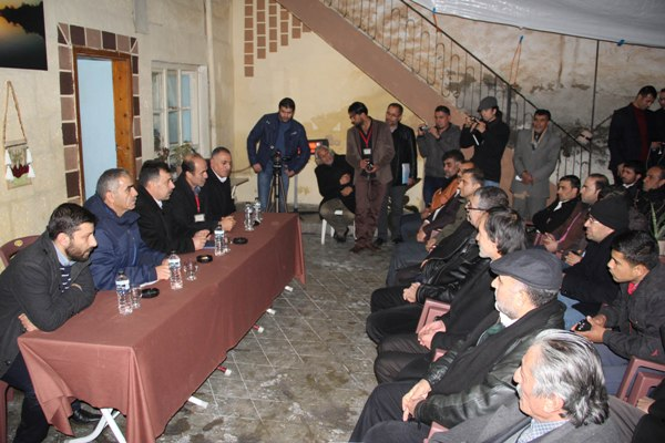 Suriye AK Partisinin Genel Başkanı Urfa'da