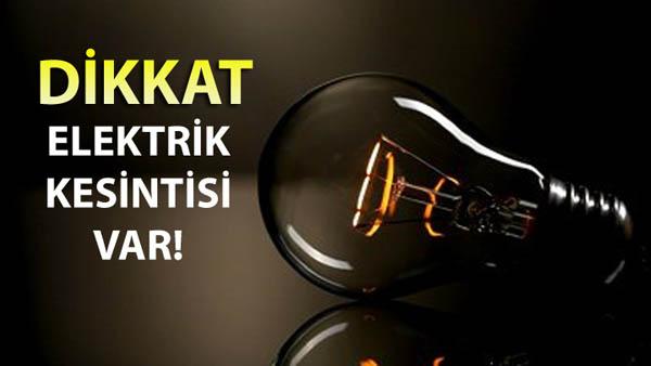 Şanlıurfa'da Hafta Boyu Elektrik Kesintisi Var