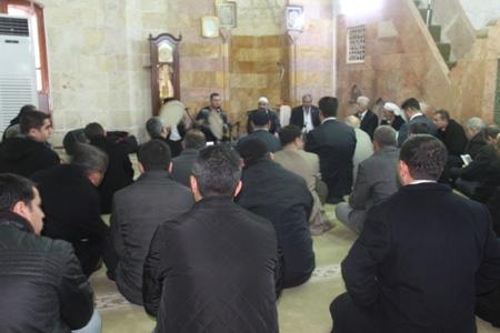 Şanlıurfa'da Akif İnan için mevlit programı düzenlendi
