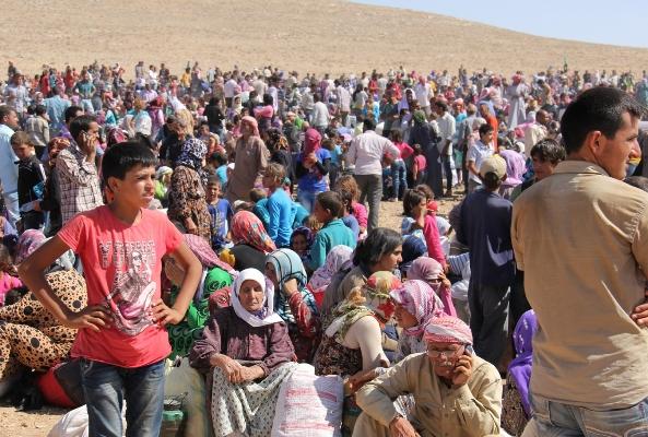 Kobanililerin çadır kente gitmemesi engelleniyor